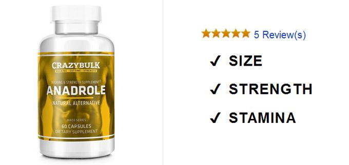 produk Anadrole critique: Obtenir des gains massifs au début d'un cycle