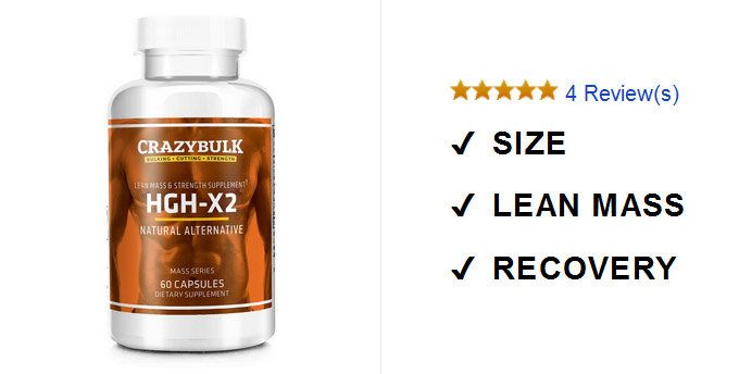 produk מוסף Somatropinne HGH-X2 לשחזור מהיר ואנטי אייג 'ינג
